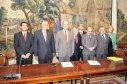 MANUEL CHAVES Y VARIOS MIEMBROS DE LA COMISIÓN EJECUTIVA DE LA FEMP