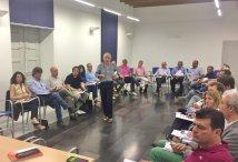 Encuentro con alcaldes de la Comunidad de Calatayud, dentro de la programación de la Cátedra