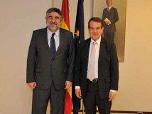 Reunión con el Ministro de Cultura