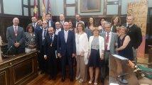 La nueva Corporación Provincial de Guadalajara.